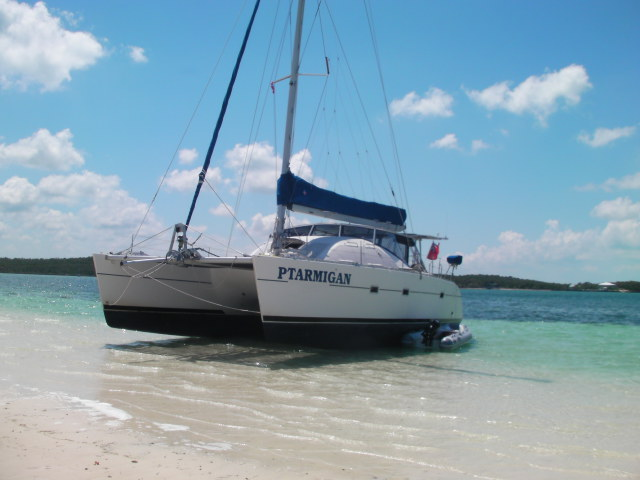 Catamarans PTARMIGAN, Manufacturer: LAGOON, Model Year: 1994, Length: 42ft, Model: Lagoon 42 TPI, Condition: USED, Listing Status: Catamaran for Sale, Price: USD 179000