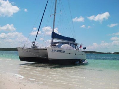 Catamarans PTARMIGAN, Manufacturer: LAGOON, Model Year: 1994, Length: 42ft, Model: Lagoon 42 TPI, Condition: USED, Listing Status: Catamaran for Sale, Price: USD 195000