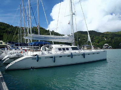 Catamaran for Sale Marquises 56  in Seychelles TERE MOANA Thumbnail for Listing Preowned Sail