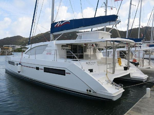 Preowned Sail Catamarans for Sale 2014 Leopard 48