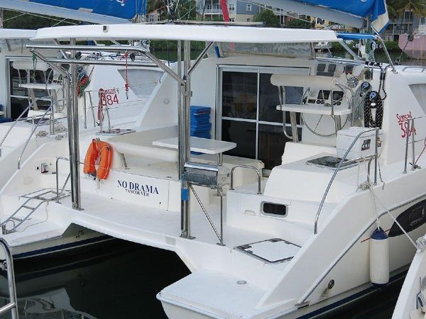 View Five Catamarans for sale that are 38 feet