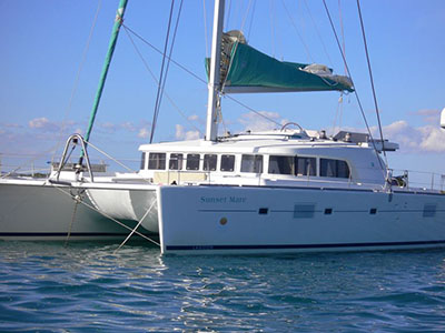 Catamaran for Sale Lagoon 500  in Sicily Italy OLMAR  Preowned Sail