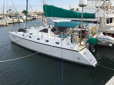 Preowned Sail Catamarans for Sale 1989 Privilege 39