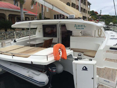 Catamaran for Sale Salina 48  in Tortola British Virgin Islands ABEL  Preowned Sail
