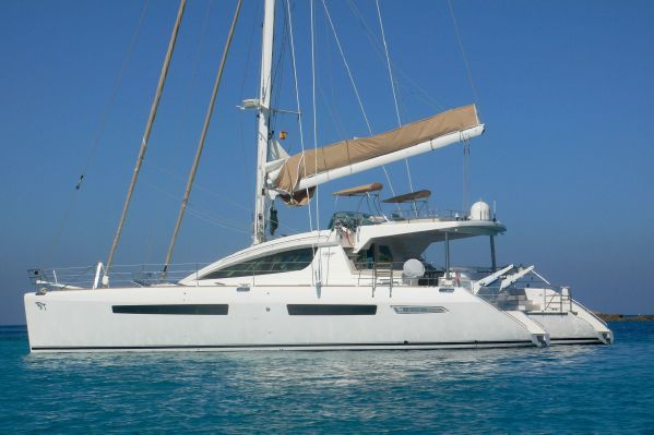 SOLD Privilege 615  in St Maarten British Virgin Islands ELYSIUM  Preowned Sail