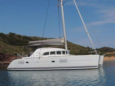 SOLD Privilege 615  in St Maarten British Virgin Islands ELYSIUM Thumbnail for Listing Preowned Sail
