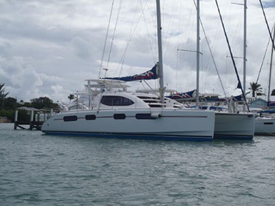 Catamarans UTOPIA, Manufacturer: ROBERTSON & CAINE, Model Year: 2008, Length: 40ft, Model: Leopard 40, Condition: USED, Listing Status: Coming Soon, Price: USD 239000
