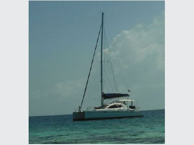 SOLD Leopard 48  in Miami Florida (FL)  CUCUBELLE II Thumbnail for Listing Preowned Sail