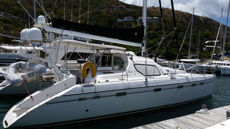 Catamarans DOG STAR, Manufacturer: ALLIAURA MARINE, Model Year: 2007, Length: 49ft, Model: Privilege 495, Condition: Preowned, Listing Status: Catamaran for Sale, Price: USD 499999