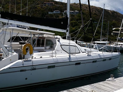 Catamarans DOG STAR, Manufacturer: ALLIAURA MARINE, Model Year: 2006, Length: 49ft, Model: Privilege 495, Condition: Preowned, Listing Status: Catamaran for Sale, Price: USD 459999