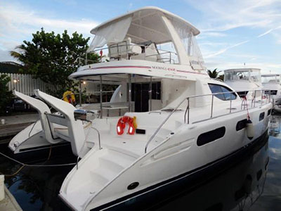 Catamarans CHAYKA, Manufacturer: ROBERTSON & CAINE, Model Year: 2011, Length: 47ft, Model: Leopard 47 PC , Condition: USED, Listing Status: Catamaran for Sale, Price: USD 395000
