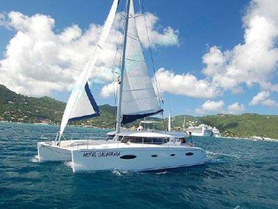 Preowned Sail Catamarans for Sale 2007 Salina 48