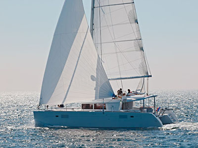 SOLD Lagoon 450  in Hodges Creek British Virgin Islands FIFTY SHADES Thumbnail for Listing New Sail