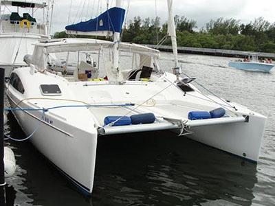 Catamarans NOWHERE TO BE, Manufacturer: ROBERTSON & CAINE, Model Year: 2012, Length: 46ft, Model: Leopard 46 , Condition: USED, Listing Status: Catamaran for Sale, Price: USD 395000