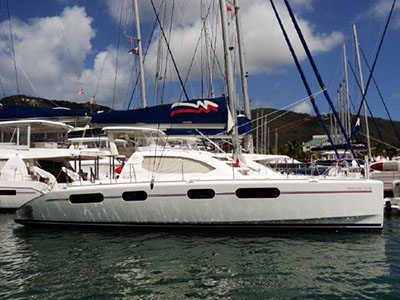Catamarans BLUE VENTURE, Manufacturer: ROBERTSON & CAINE, Model Year: 2010, Length: 46ft, Model: Leopard 46 , Condition: USED, Listing Status: Catamaran for Sale, Price: USD 399000