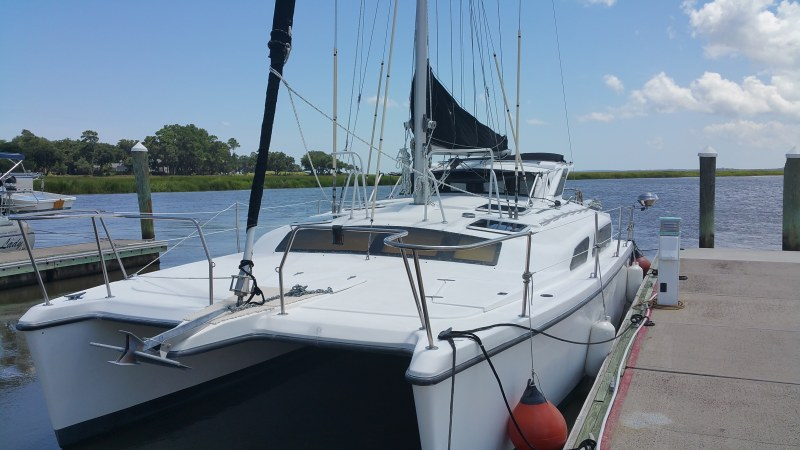 SOLD Gemini 105Mc  in St. Augustine Florida (FL)  LEILANI  Preowned Sail