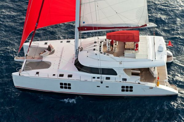 Preowned Sail Catamarans for Sale 2011 Sunreef 70