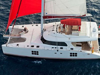 Catamaran for Sale Sunreef 70  in Caribbean DREAM GIRL  Preowned Sail