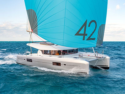 Catamaran for Sale Lagoon 42  in Bordeaux France BROCHURE-LAGOON 42  Brochure Sail