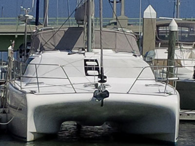 Catamarans PRINCESS VESPA, Manufacturer: ROBERTSON & CAINE, Model Year: 2009, Length: 40ft, Model: Leopard 40, Condition: USED, Listing Status: Catamaran for Sale, Price: USD 279000