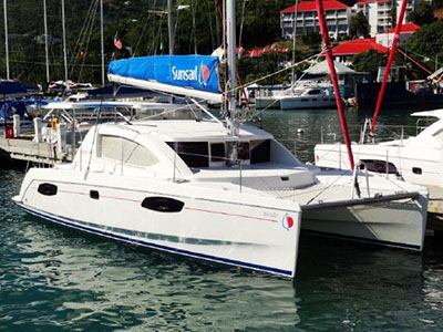 Catamaran for Sale Leopard 38  in Tortola British Virgin Islands BRUMBY Thumbnail for Listing Preowned Sail