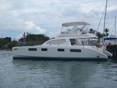 Catamarans SEA SONG, Manufacturer: ROBERTSON & CAINE, Model Year: 2008, Length: 47ft, Model: Leopard 47 PC , Condition: USED, Listing Status: Catamaran for Sale, Price: USD 329000