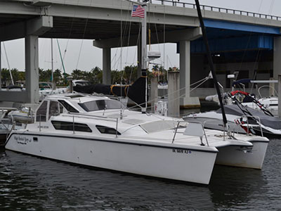 Catamarans CASITA I, Manufacturer: ENDEAVOUR, Model Year: 2003, Length: 44ft, Model: Endeavour 44, Condition: USED, Listing Status: Catamaran for Sale, Price: USD 275000