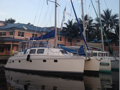 SOLD Lipari 41  in Airlie Beach Australia L'AVANT  Preowned Sail