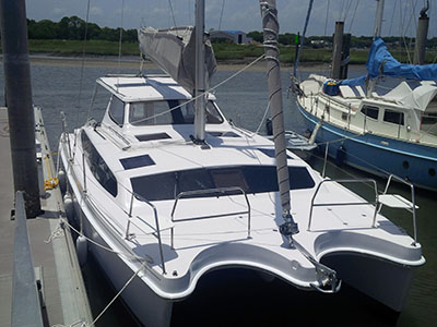 Catamarans EMBELLIE 2, Manufacturer: LAGOON, Model Year: 2011, Length: 45ft, Model: Lagoon 450, Condition: USED, Listing Status: Catamaran for Sale, Price: EURO 399000