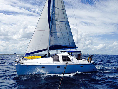 Preowned Sail Catamarans for Sale 1998 Bahia 46