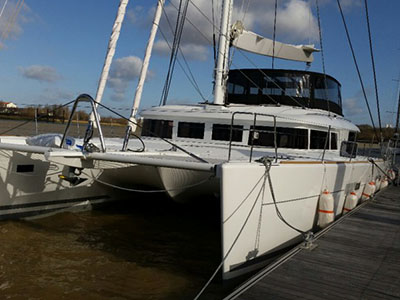 SOLD Lagoon 620   in Fort Lauderdale Florida (FL)  LONDON SKY  New Sail