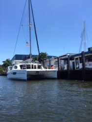 Used Sail Catamaran for Sale 2013 Leopard 44 owners version
