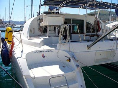 Catamarans Z DANICA, Manufacturer: LAGOON, Model Year: 2003, Length: 38ft, Model: Lagoon 380, Condition: Preowned, Listing Status: Catamaran for Sale, Price: EURO 125000