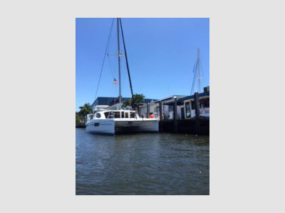 SOLD Lagoon 450  in Tortola British Virgin Islands CATTITUDE- HULL 470 Thumbnail for Listing New Sail