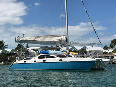 Catamarans FELIX, Manufacturer: PROUT, Model Year: 1996, Length: 45ft, Model: Prout 45, Condition: Preowned, Listing Status: Catamaran for Sale, Price: USD 266000