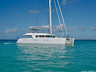 Catamaran for Sale Lagoon 560  in Cruising  NO NAME Thumbnail for Listing Preowned Sail