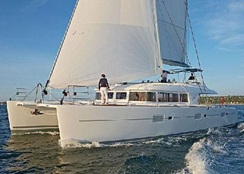 Catamarans CAT AND THE FIDDLE, Manufacturer: LAGOON, Model Year: 2013, Length: 62ft, Model: Lagoon 620 , Condition: USED, Listing Status: Catamaran for Sale, Price: USD  1475000