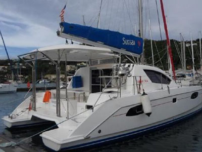 Catamarans SECOND WIND, Manufacturer: PERFORMANCE CRUISING, Model Year: 2003, Length: 34ft, Model: Gemini 105Mc, Condition: USED, Listing Status: Catamaran for Sale, Price: USD 119900