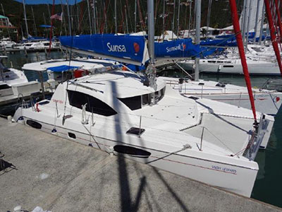 Catamarans SNOW LEOPARD, Manufacturer: ROBERTSON & CAINE, Model Year: 2010, Length: 37ft, Model: Leopard 38, Condition: Preowned, Listing Status: SOLD, Price: USD  169536