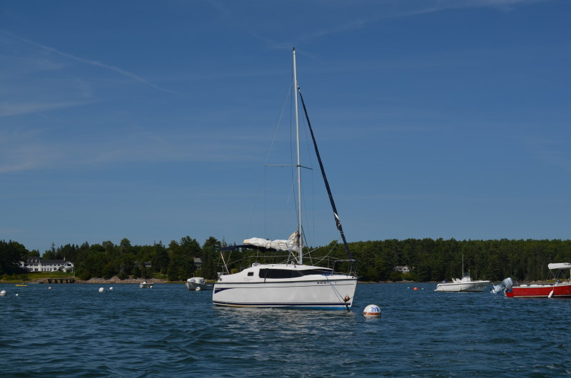 Preowned Sail Catamarans for Sale 2010 Hunter 27E EDGE