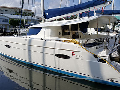Catamarans 27E EDGE , Manufacturer: HUNTER MARINE, Model Year: 2010, Length: 27ft, Model: Hunter 27E EDGE, Condition: Used, Listing Status: Under Contract, Price: USD 29900