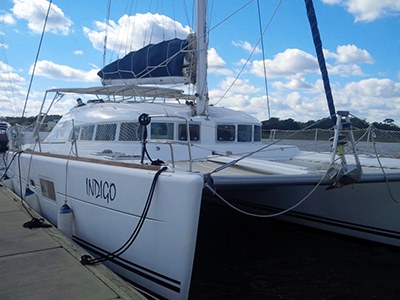 Catamarans INDIGO, Manufacturer: LAGOON, Model Year: 2006, Length: 41ft, Model: Lagoon 410 S2, Condition: USED, Listing Status: Catamaran for Sale, Price: USD 224900