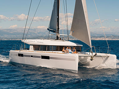 New Sail Catamaran for Sale  Lagoon 52 S
