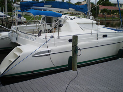 Catamarans TULIUS, Manufacturer: FOUNTAINE PAJOT , Model Year: 1997, Length: 35ft, Model: Tobago 35, Condition: USED, Listing Status: Catamaran for Sale, Price: USD 127500