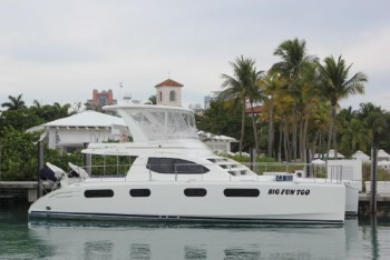 Catamarans BIG FUN TOO, Manufacturer: ROBERTSON & CAINE, Model Year: 2011, Length: 47ft, Model: Leopard 47 PC , Condition: USED, Listing Status: Catamaran for Sale, Price: USD 525000