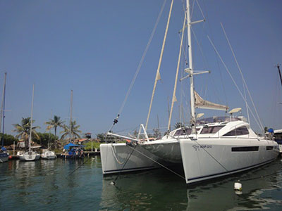 SOLD Privilege 615  in Chaguaramas Trinidad and Tobago ELIXIR  Preowned Sail