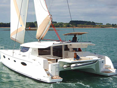 Catamaran for Sale Salina 48  in Corsica France BELLA VITA I Thumbnail for Listing Preowned Sail