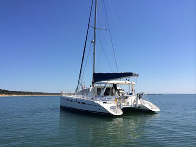 Catamarans SIRENITA, Manufacturer: CHARTER CATS SA, Model Year: 2003, Length: 37ft, Model: Wildcat 350, Condition: USED, Listing Status: Acceptance of Vessel, Price: USD 139000