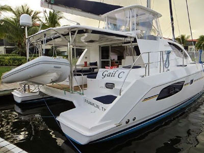 Catamarans GAIL C, Manufacturer: ROBERTSON & CAINE, Model Year: 2014, Length: 42ft, Model: Leopard 44, Condition: USED, Listing Status: Catamaran for Sale, Price: USD 519000
