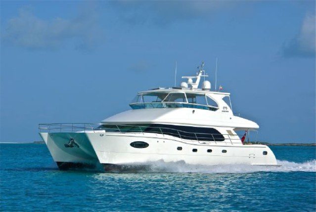 SOLD Horizon PC60  in Fort Lauderdale Florida (FL)  BLUE HORIZON Vessel Summary Preowned Power